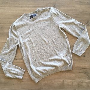TOPMAN ~ men's gray crewneck sweater size small